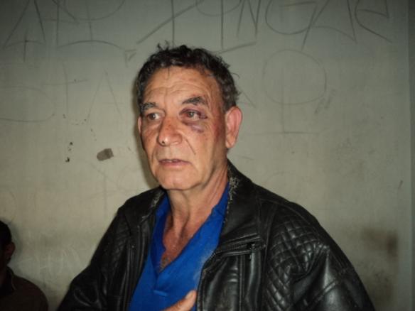 """Geraldo """"Lado"""" Moreira do Couto: -  Eu sou inocente... Minha mãe não pode me ver assim!"""