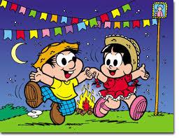 Foi-se o tempo emq ue as festas juninas na pequena cidade eram puras e inocentes como o namoro de Rosinha & Chico Bento ...!