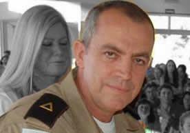 O policial Gabriel morreu pouco antes de se aposentar...