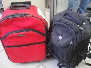 As malas com os tijolinhos de maconha não chegaram ao seu destino...!