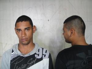 Carlos Eduardo PInto, o uniuco 'dimaior' da quadrilha de ladrões de bicicletas, acabou segundo sozinho a bronca...!