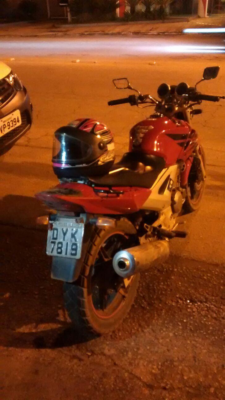 Assaltante Moto