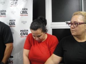A participaçãoa de Rosiane Rosa no crimese rerstringou ao sequestro de Laroissa na rodoviaria..