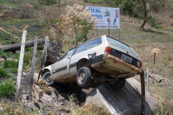 I.I. - Esse quebrou de verdade, sem golpe, perto de Santa Rita do Sapucaí!