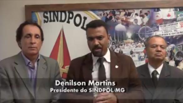 Denilson Martins, presidente SINDPOL...