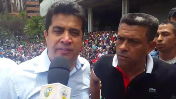"""Deputado Sgt Rodrigues conclamando policiais militares ao movimento contra """"pacote de maldades""""..."""